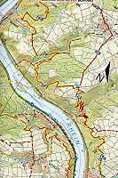 Topographische Karte Rheinland-Pfalz RheinWandern Süd - Produktdetailbild 2