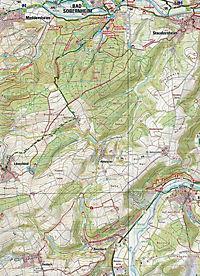 Topographische Karte Rheinland-Pfalz Westpfalz Nord - Produktdetailbild 2
