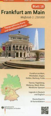 Topographische Karte und Satellitenbildkarte Frankfurt am Main - BKG - Bundesamt für Kartographie und Geodäsie |