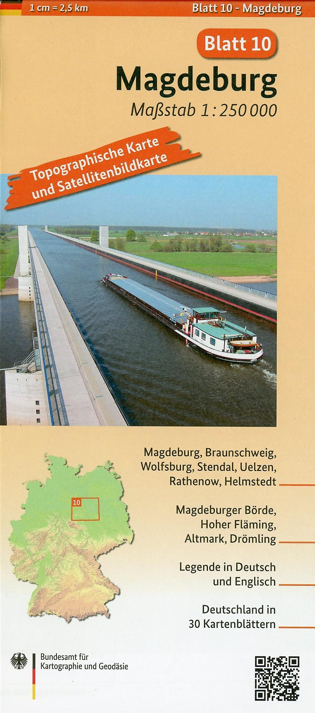 strassenkarte 90 km um magdeburg massstab 1 150000