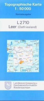 Topographische Karten Niedersachsen: Bl.2710 Leer