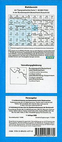Topographische Karten Niedersachsen: Bl.2932 Dannenberg (Elbe) - Produktdetailbild 1