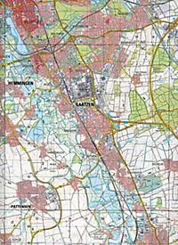 Topographische Karten Niedersachsen: Bl.3724 Hannover - Produktdetailbild 2
