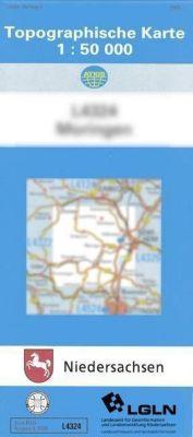 Topographische Karten Niedersachsen: Bl.3726 Peine