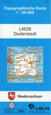 Topographische Karten Niedersachsen: Bl.4526 Duderstadt -  pdf epub