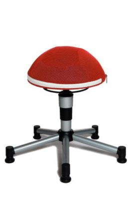 Topstar Sitzhocker Sitness Junior Half Ball (Farbe: rot)