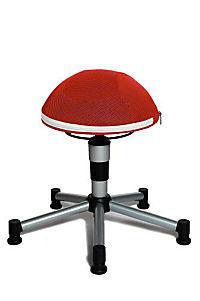 "Topstar Sitzhocker ""Sitness Junior Half Ball"" (Farbe: rot) - Produktdetailbild 1"