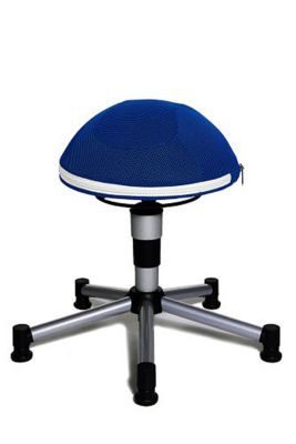Topstar Sitzhocker Sitness Junior Half Ball (Farbe: blau)