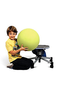 "Topstar Sitzhocker ""Sitness Junior Half Ball"" (Farbe: blau) - Produktdetailbild 4"