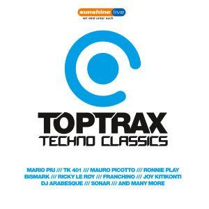Toptrax Techno Classics, Diverse Interpreten