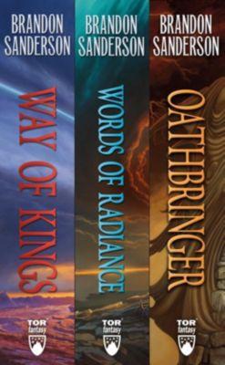 Tor Books: The Stormlight Archive, Books 1-3, Brandon Sanderson