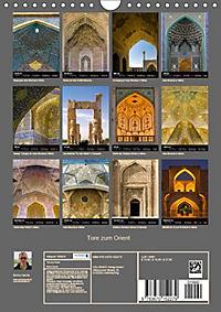 Tore zum Orient (Wandkalender 2019 DIN A4 hoch) - Produktdetailbild 13