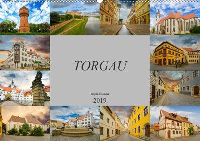 Torgau Impressionen (Wandkalender 2019 DIN A2 quer), Dirk Meutzner