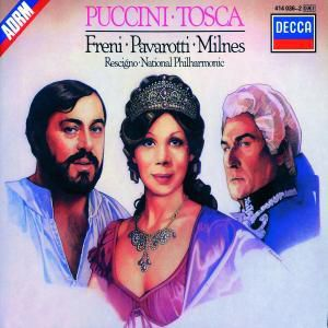 Tosca (Ga), Freni, Pavarotti, Rescigno, Napo