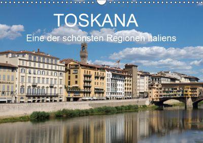 Toskana - eine der schönsten Regionen Italiens (Wandkalender 2019 DIN A3 quer), wolfgang Teuber
