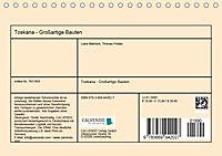 Toskana - Großarige Bauten (Tischkalender 2019 DIN A5 quer) - Produktdetailbild 13