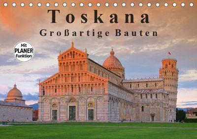 Toskana - Großarige Bauten (Tischkalender 2019 DIN A5 quer), LianeM
