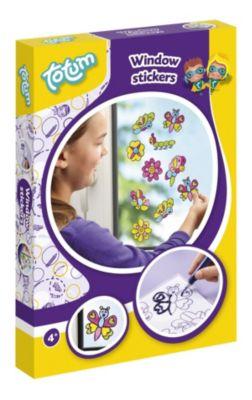 Totum Window Stickers - Fensterbilder zum malen