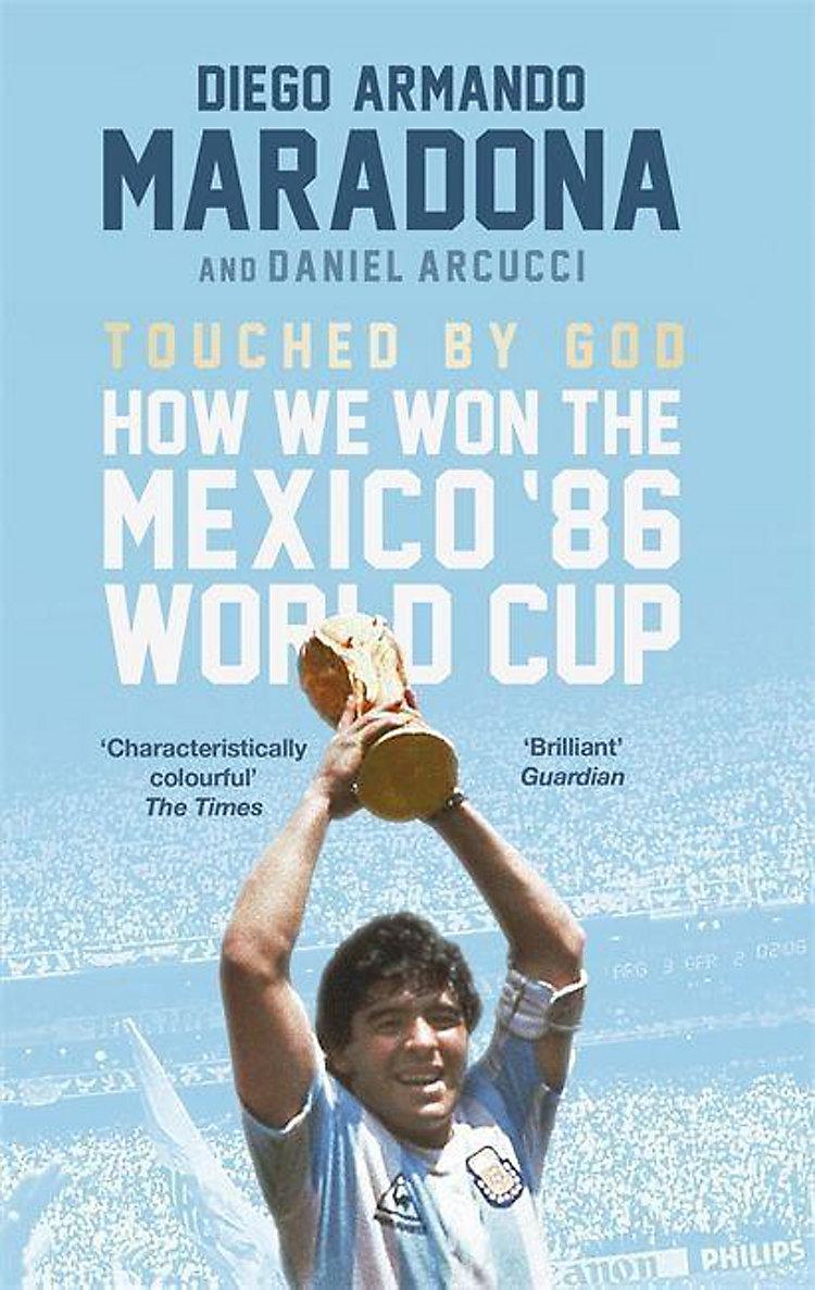 Touched By God Buch Von Diego Maradona Versandkostenfrei Bei