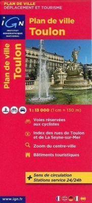 Toulon Plan de Ville 1 : 13 000