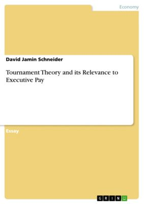 Tournament Theory and its Relevance to Executive Pay, David Jamin Schneider