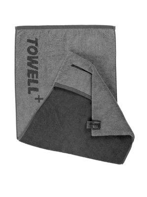 Towell+ Multifunktionshandtuch grau