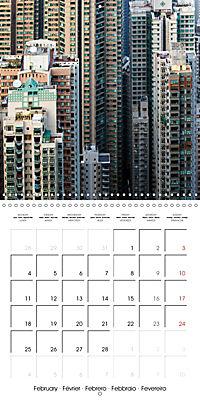 Towers of Hong Kong (Wall Calendar 2019 300 × 300 mm Square) - Produktdetailbild 2