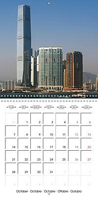 Towers of Hong Kong (Wall Calendar 2019 300 × 300 mm Square) - Produktdetailbild 10