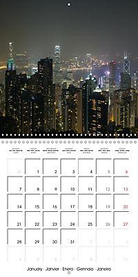 Towers of Hong Kong (Wall Calendar 2019 300 × 300 mm Square) - Produktdetailbild 1