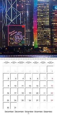 Towers of Hong Kong (Wall Calendar 2019 300 × 300 mm Square) - Produktdetailbild 12