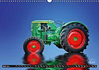Tractor - Oldtimer / UK-Version (Wall Calendar 2019 DIN A3 Landscape) - Produktdetailbild 4