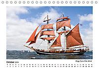 Traditionsschiffe auf der Ostsee (Tischkalender 2019 DIN A5 quer) - Produktdetailbild 2
