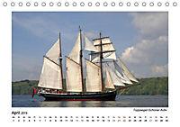 Traditionsschiffe auf der Ostsee (Tischkalender 2019 DIN A5 quer) - Produktdetailbild 1