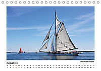 Traditionsschiffe auf der Ostsee (Tischkalender 2019 DIN A5 quer) - Produktdetailbild 7