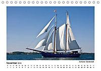 Traditionsschiffe auf der Ostsee (Tischkalender 2019 DIN A5 quer) - Produktdetailbild 4