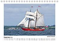 Traditionsschiffe auf der Ostsee (Tischkalender 2019 DIN A5 quer) - Produktdetailbild 8