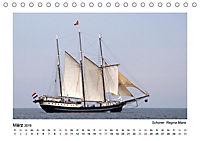 Traditionsschiffe auf der Ostsee (Tischkalender 2019 DIN A5 quer) - Produktdetailbild 13