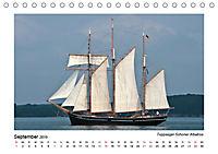 Traditionsschiffe auf der Ostsee (Tischkalender 2019 DIN A5 quer) - Produktdetailbild 9