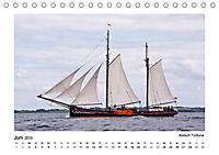Traditionsschiffe auf der Ostsee (Tischkalender 2019 DIN A5 quer) - Produktdetailbild 6