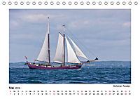 Traditionsschiffe auf der Ostsee (Tischkalender 2019 DIN A5 quer) - Produktdetailbild 5