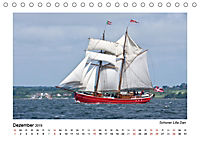 Traditionsschiffe auf der Ostsee (Tischkalender 2019 DIN A5 quer) - Produktdetailbild 12