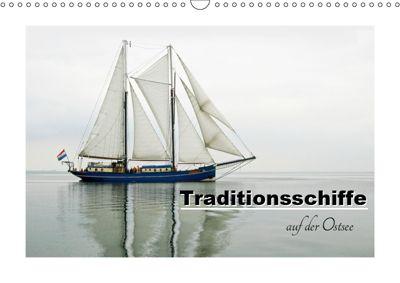 Traditionsschiffe auf der Ostsee (Wandkalender 2019 DIN A3 quer), Carina-Fotografie