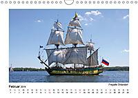 Traditionsschiffe auf der Ostsee (Wandkalender 2019 DIN A4 quer) - Produktdetailbild 2