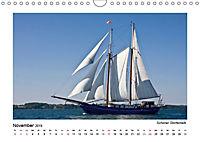 Traditionsschiffe auf der Ostsee (Wandkalender 2019 DIN A4 quer) - Produktdetailbild 11