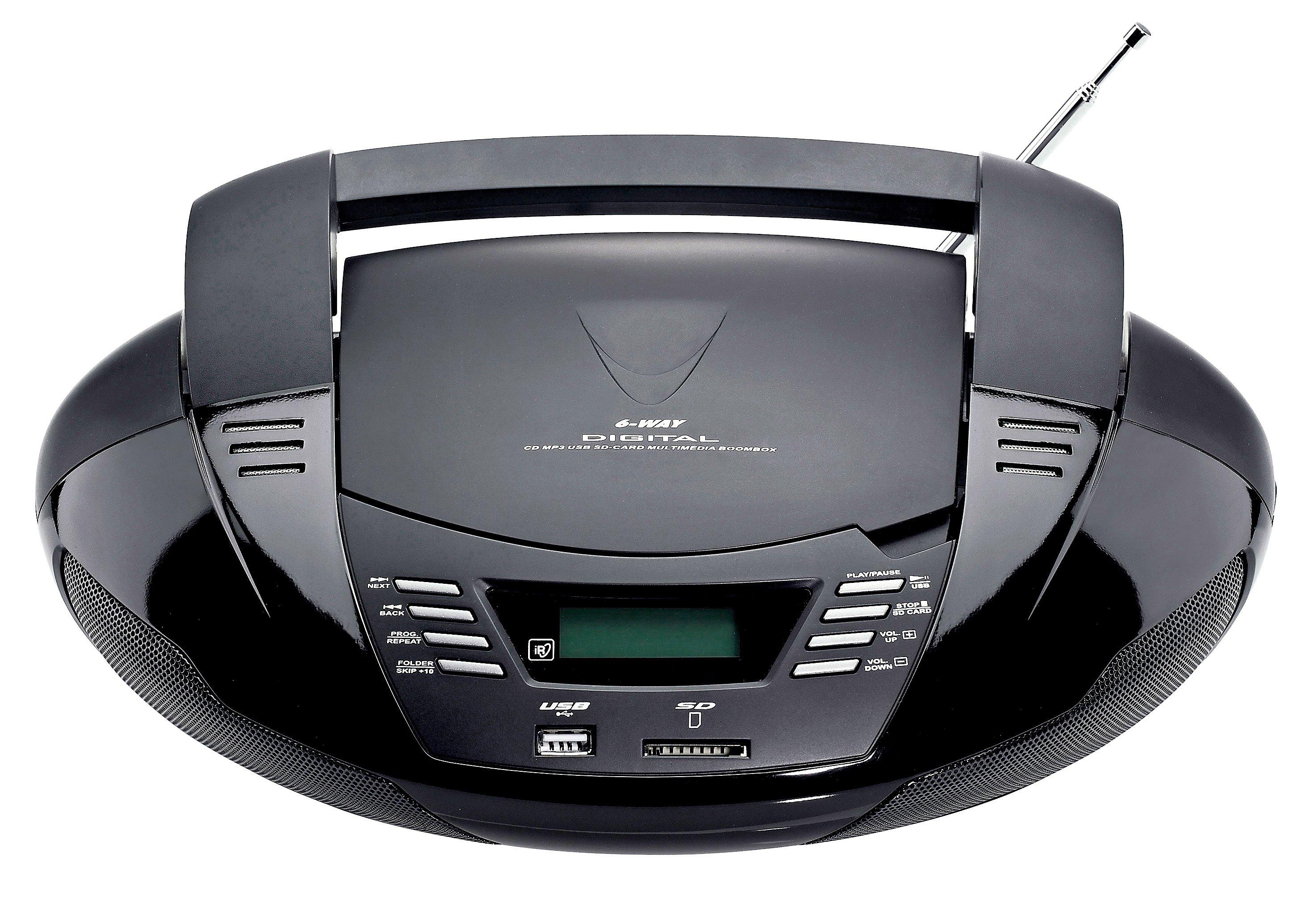 tragbarer cd player radio mit usb jetzt bei bestellen. Black Bedroom Furniture Sets. Home Design Ideas