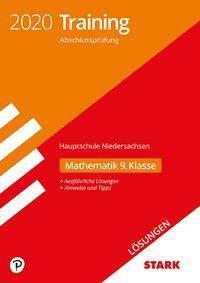 Training Abschlussprüfung Hauptschule 2020 - Mathematik 9. Klasse Lösungen - Niedersachsen