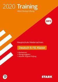 Training Abschlussprüfung Hauptschule 2020 - Deutsch 9./10. Klasse - Niedersachsen -  pdf epub