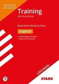 Training Abschlussprüfung Realschule 2020 - Englisch Lösungen - Niedersachsen