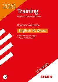 Training Mittlerer Schulabschluss 2020 - Nordrhein-Westfalen - Englisch 10. Klasse Lösungen