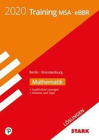 Training MSA/eBBR 2020 - Mathematik Lösungen - Berlin/Brandenburg